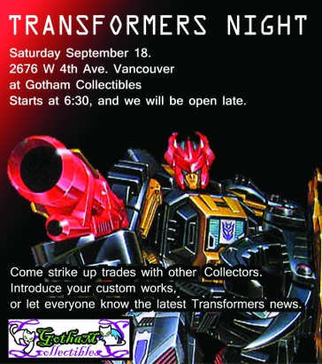 Transformers Night Sept18 Flyer a