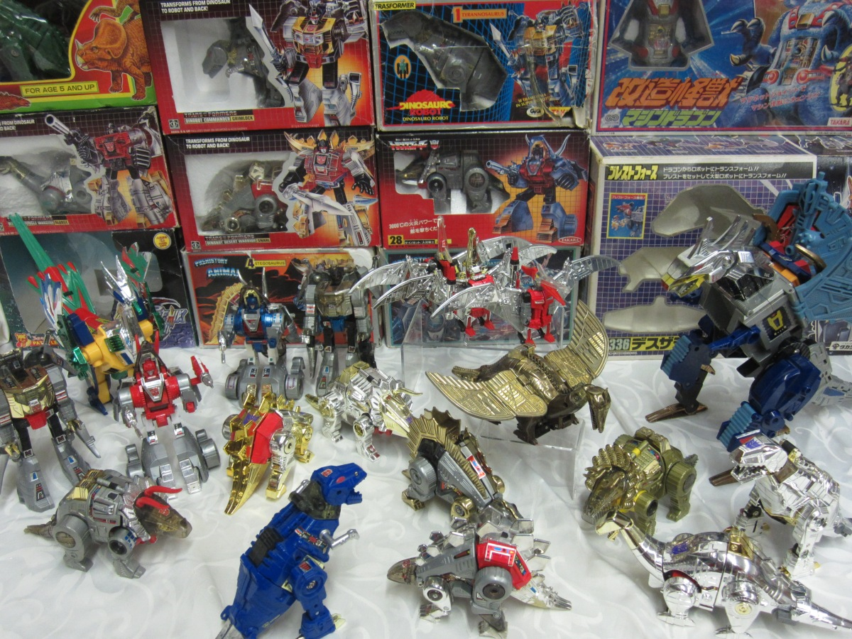 Transformers G1 Robo Dinosaurs Toys From The 1980 S