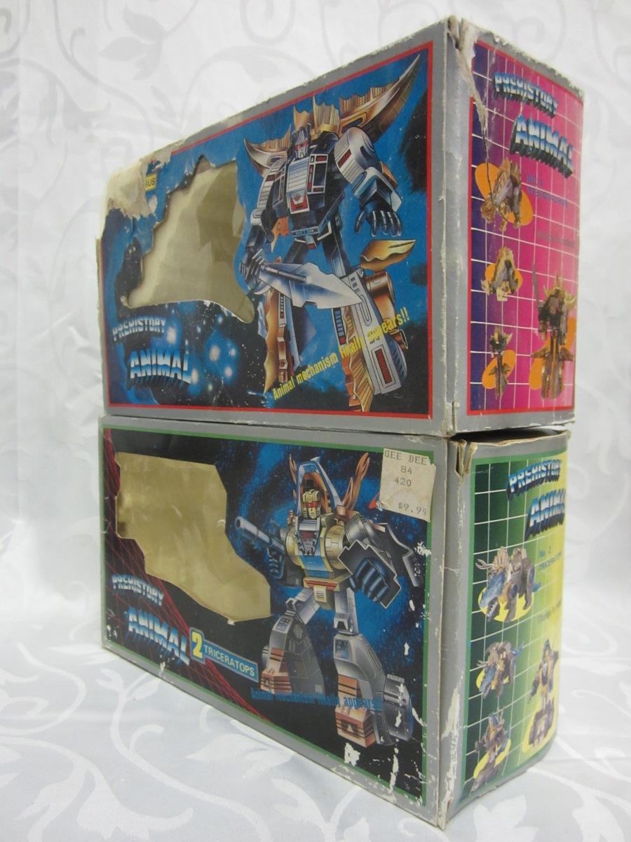 PREHISTORY ANIMAL 2 4 BOX ART DINO ROBO G1 TRANSFORMERS BOOTLEG.JPG