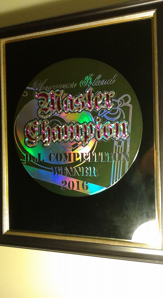 2016 master champion vancouver island DJ