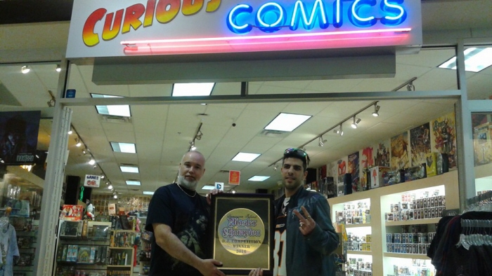 curious comics gotham collectibles master champion vancouver island dj