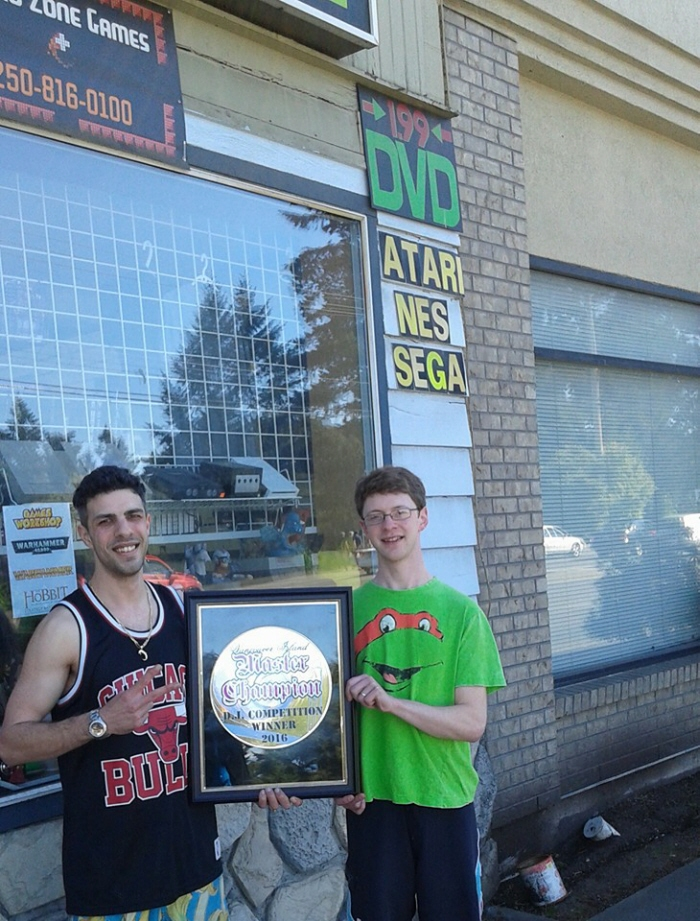 west coast retro zone games parksville master champion vancouver island dj